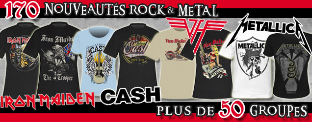+ DE 170 NEWS ROCK & METAL